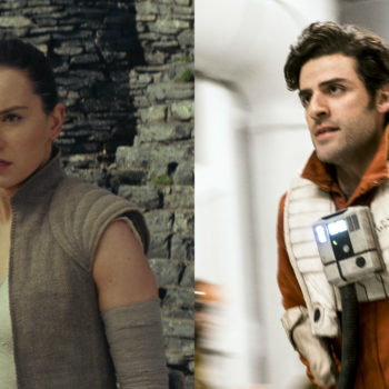 """There's one tiny continuity error in """"The Last Jedi,"""" and it has to do with Rey and Poe"""