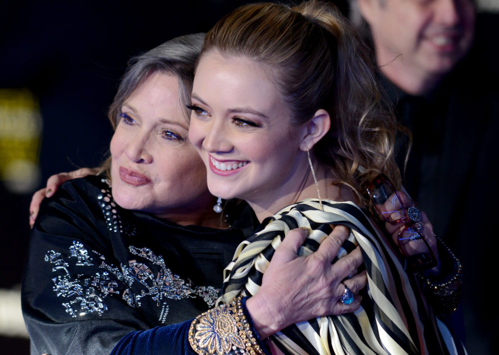 Billie Lourd just posted a sweet message to Carrie Fisher, and we're crying all over again