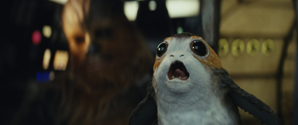 "There weren't nearly enough Porgs in ""The Last Jedi"" to my liking"