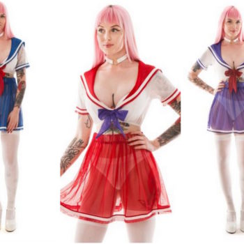 """Sailor Moon""-inspired lingerie exists, so you can fight evil by moonlight in your underwear"