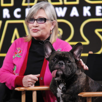 """Gary Fisher perked up when he saw his mom, Carrie, in """"The Last Jedi,"""" and pass the tissues"""