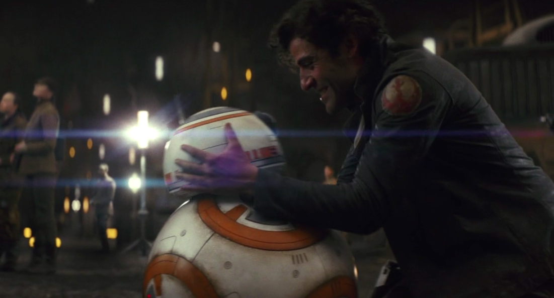 I just want someone to love me as much as Poe loves BB-8 in <em>Star Wars</em>