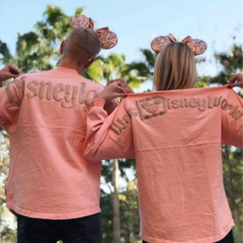 Disney is releasing millennial pink and rose gold spirit jerseys, and prepare to get your sparkle on