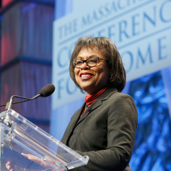 Female Hollywood execs are teaming up with U.S. attorney Anita Hill to fight sexual harassment