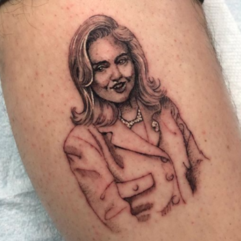 Pete Davidson unveiled his Hillary Clinton tattoo, and her response was everything