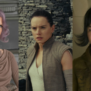 """Ranking the badass lady power moments in """"Last Jedi,"""" on a scale from 1 to YAS GENERAL"""