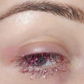 """Tinsel eyelashes"" are the new makeup trend that will help you sleigh the holidays"