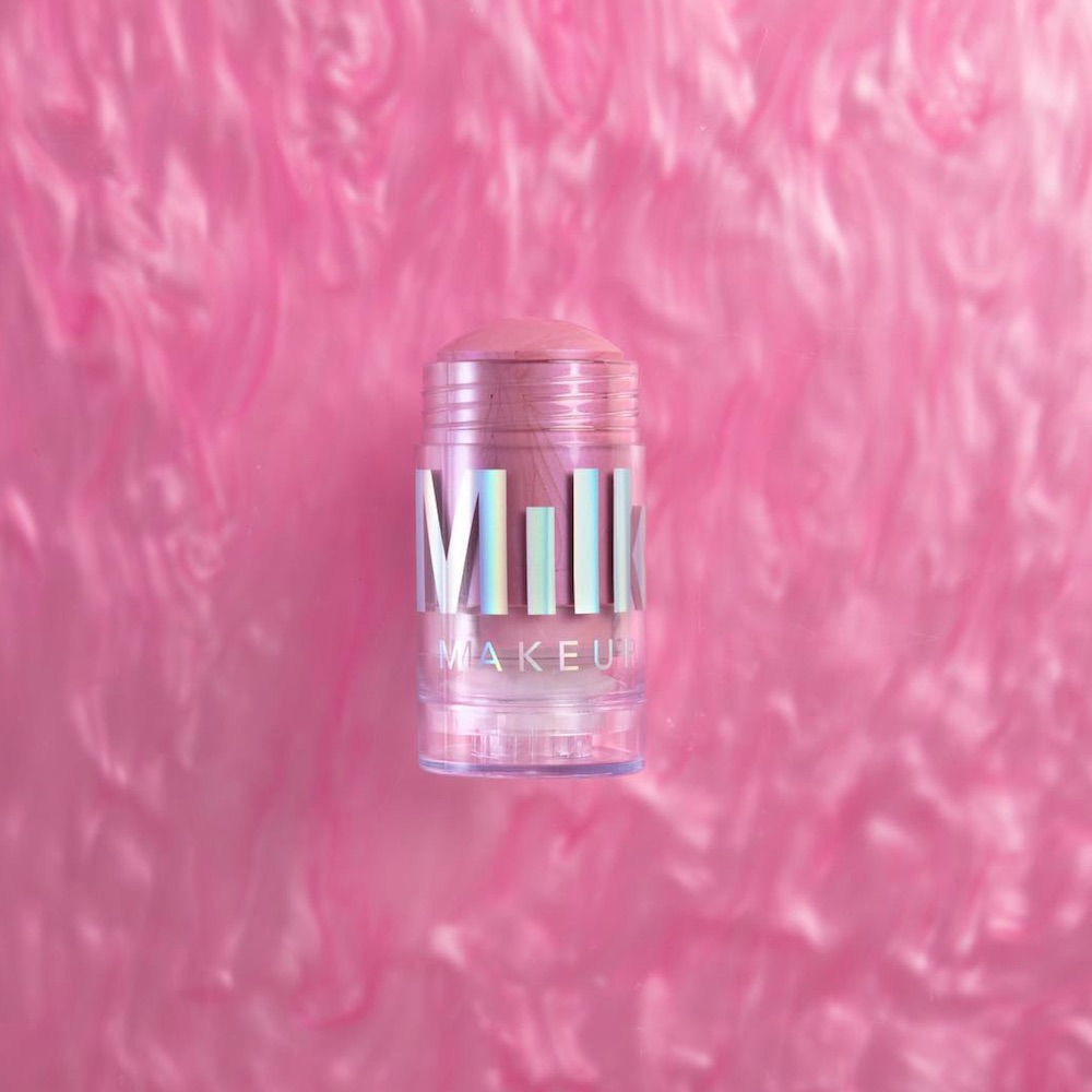 Milk Makeup's prismatic pink highlighter will match your rose quartz crystal collection
