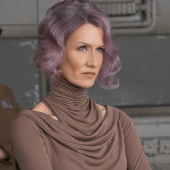 "Here's how to copy Laura Dern's out-of-this-world lilac hair in ""The Last Jedi"""