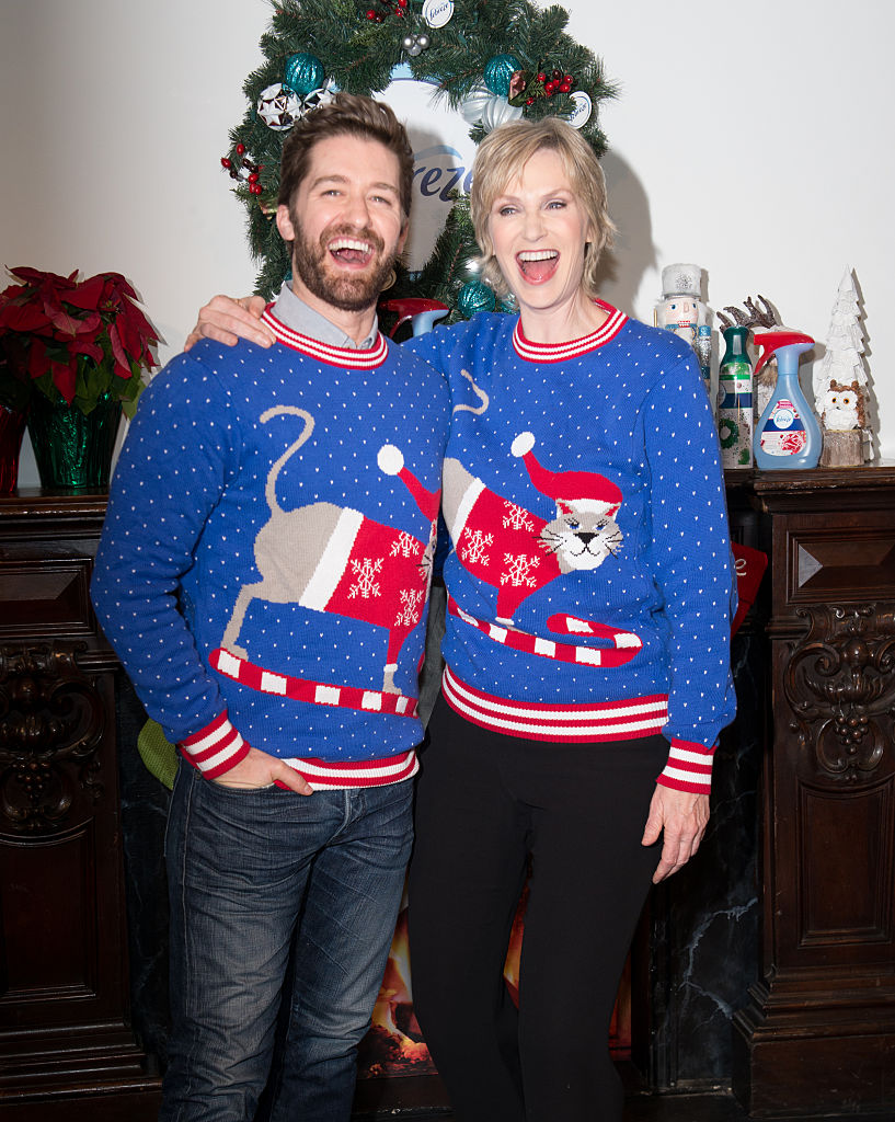 It's National Ugly Christmas Sweater Day, so look at these photos of celebrities wearing ugly sweaters