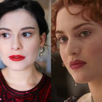 """For """"Titanic's"""" 20th anniversary, I copied Rose's fresh-faced makeup"""
