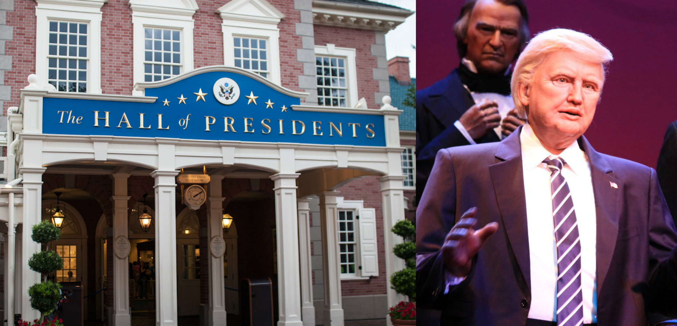 Disney just unveiled Donald Trump in the Hall of Presidents, and this is straight out of my nightmares