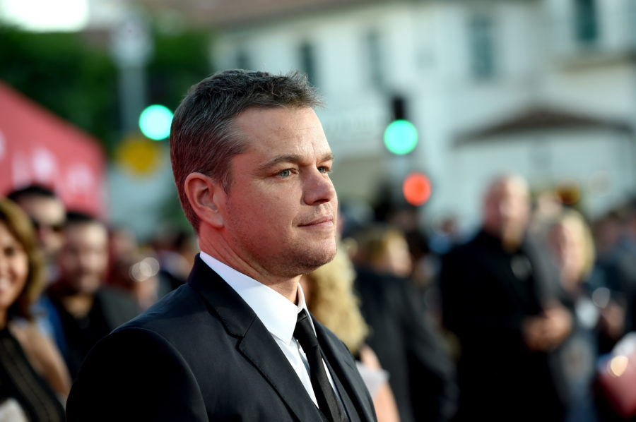 Matt Damon says we should be talking more about men who *don't* harass women, and Twitter is on fire