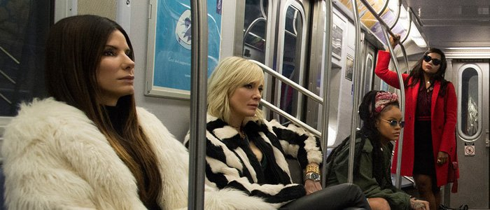 "The full ""Ocean's 8"" trailer is finally here, and we want to watch it on loop all day long"