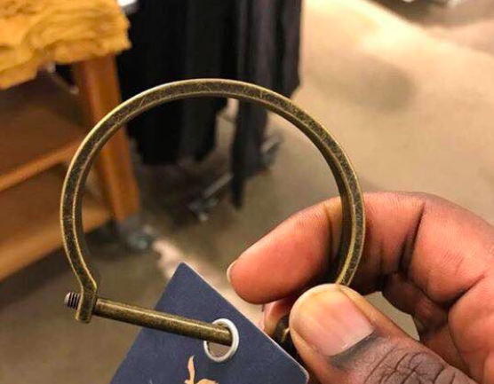 """American Eagle was selling a """"slave shackle"""" bracelet, and customers are understandably angry"""