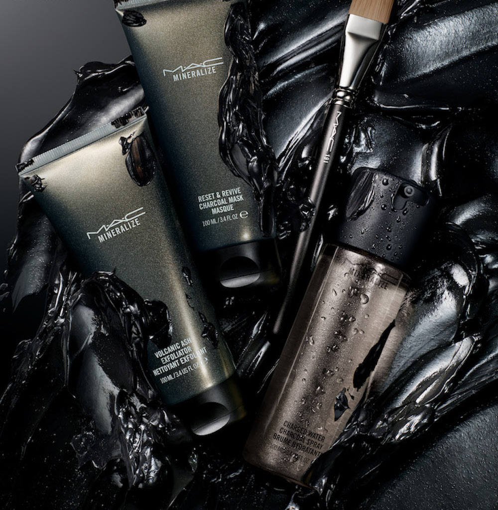 MAC's charcoal-infused skin care line is just what our skin will need after the holiday frenzy