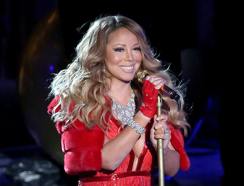 "Mariah Carey's ""All I Want for Christmas Is You"" broke a Billboard record...in 2017"