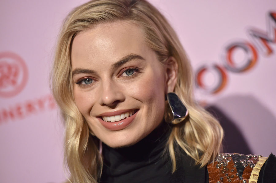 Margot Robbie once found a human foot on the beach, and what?