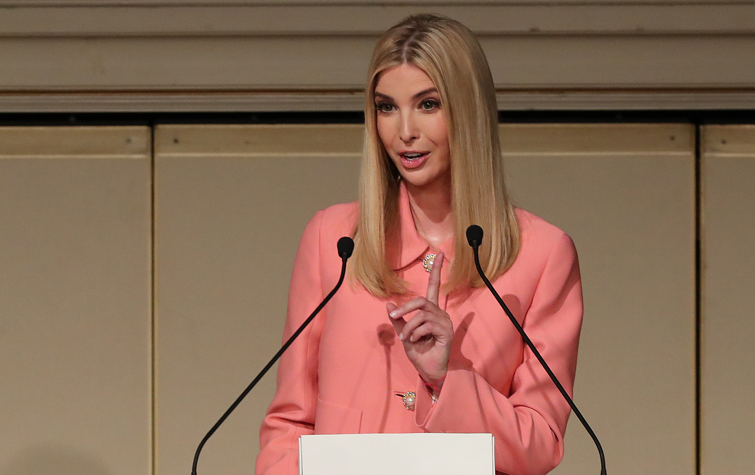 Ivanka Trump visited a school unannounced, and some parents are angry