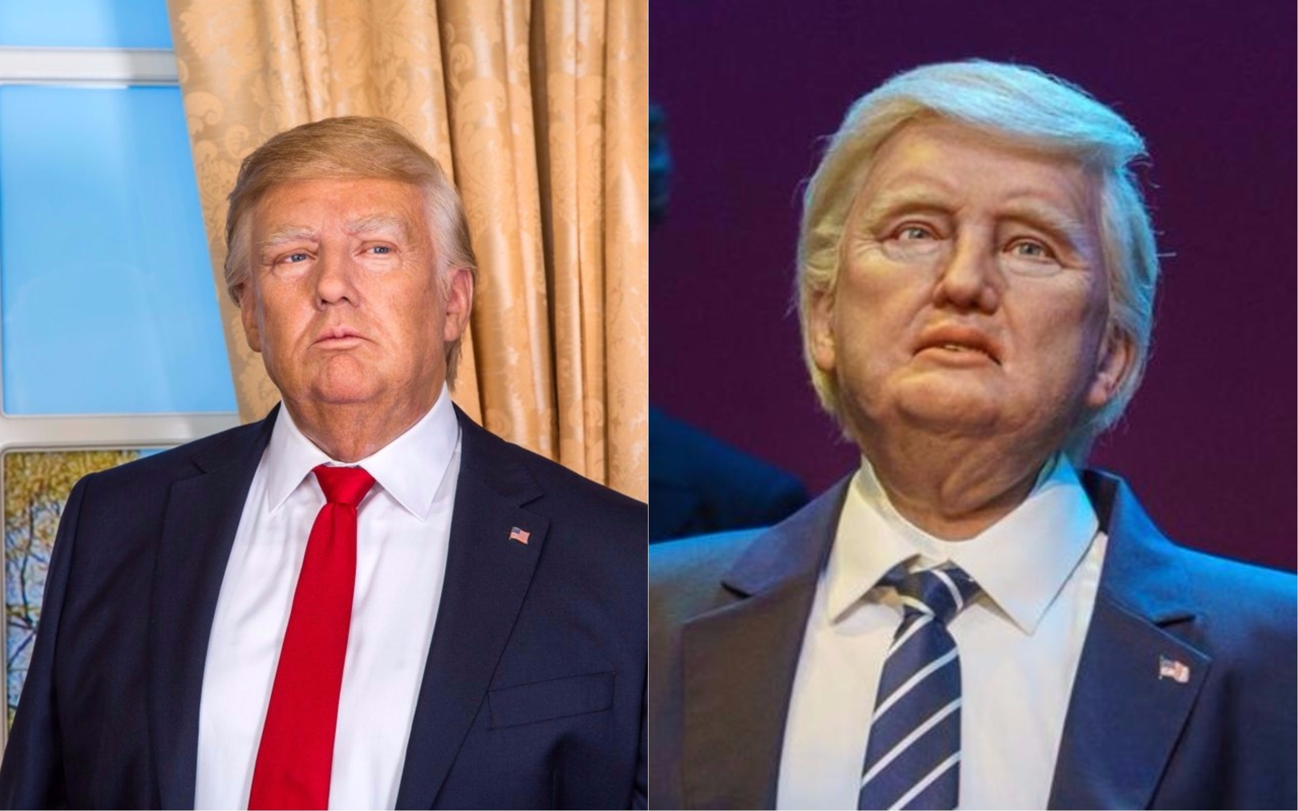 Madame Tussauds dropped a savage tweet to completely burn Disney's new Trump animatronic