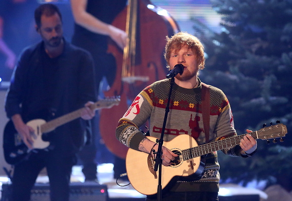 "Ed Sheeran was bribed into writing ""Shape of You"" with Legos"