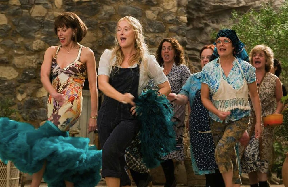 "This behind-the-scenes video from ""Mamma Mia"" proves just how much we've missed 'ya"