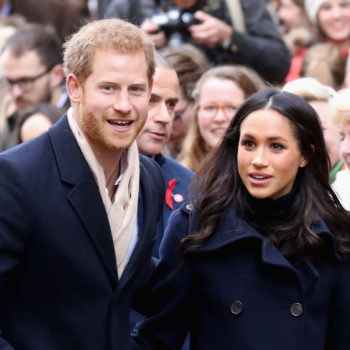 Prince Harry and Meghan Markle just released their official engagement photos