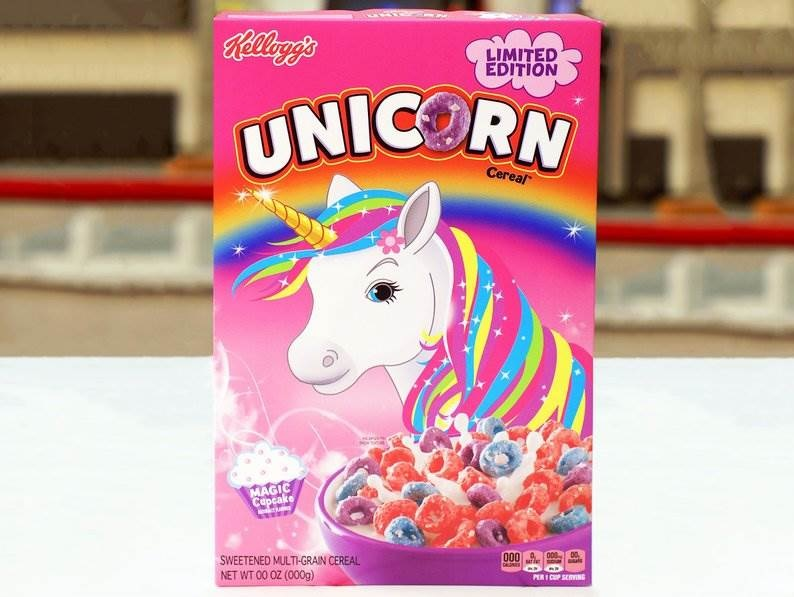 Kellogg's is releasing a unicorn-themed cereal, because they know our hearts
