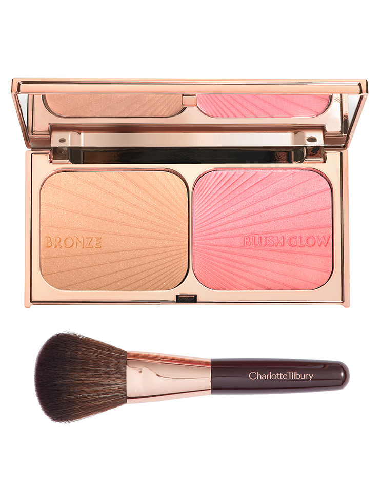 "Charlotte Tilbury released a cheek palette that will help you look just like a ""film star"""