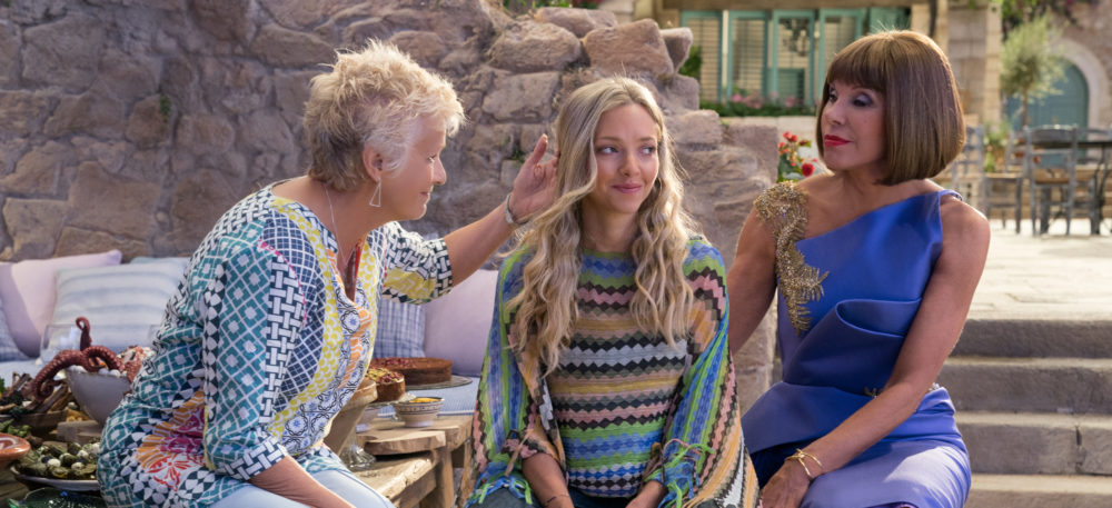 "The first trailer for the ""Mamma Mia!"" sequel is completely bonkers in a GREAT way"