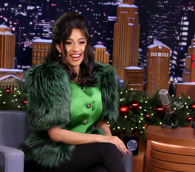 Cardi B's interview with Jimmy Fallon was show-stopping (literally)