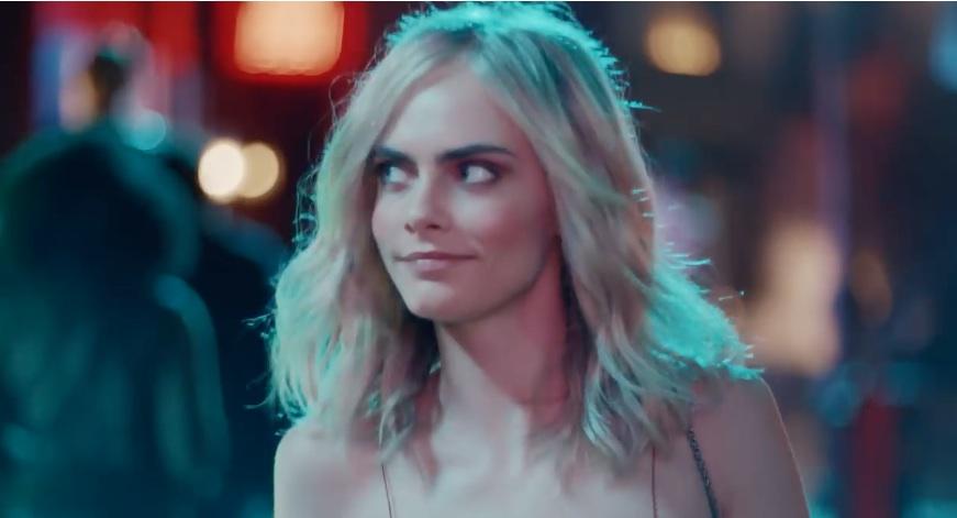 9a26d6015060 People are angry about a sexist ad that features Cara Delevingne getting  catcalled