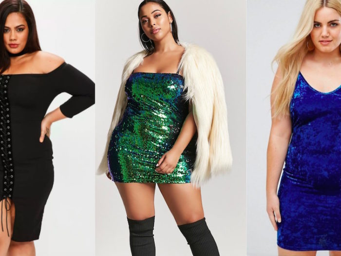 26 cute plus size dresses to wear for New Year's Eve