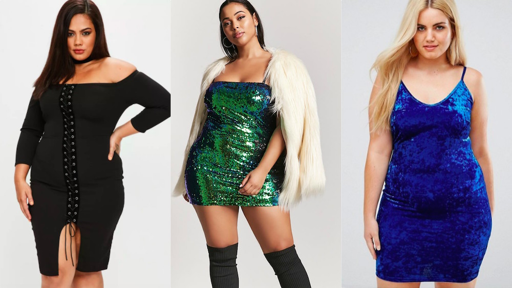 26 cute plus size dresses to wear for New Year\'s Eve ...
