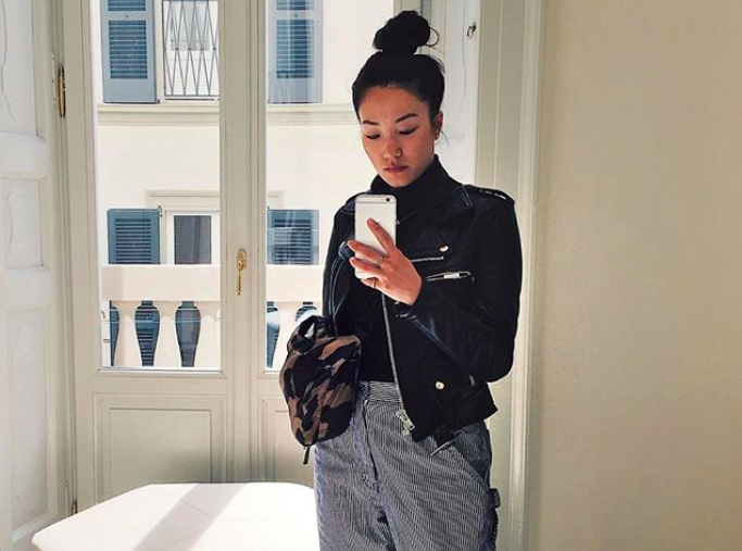 Illustrator Sophia Chang talks to us about side hustles, receipts, and the secret to her top knot
