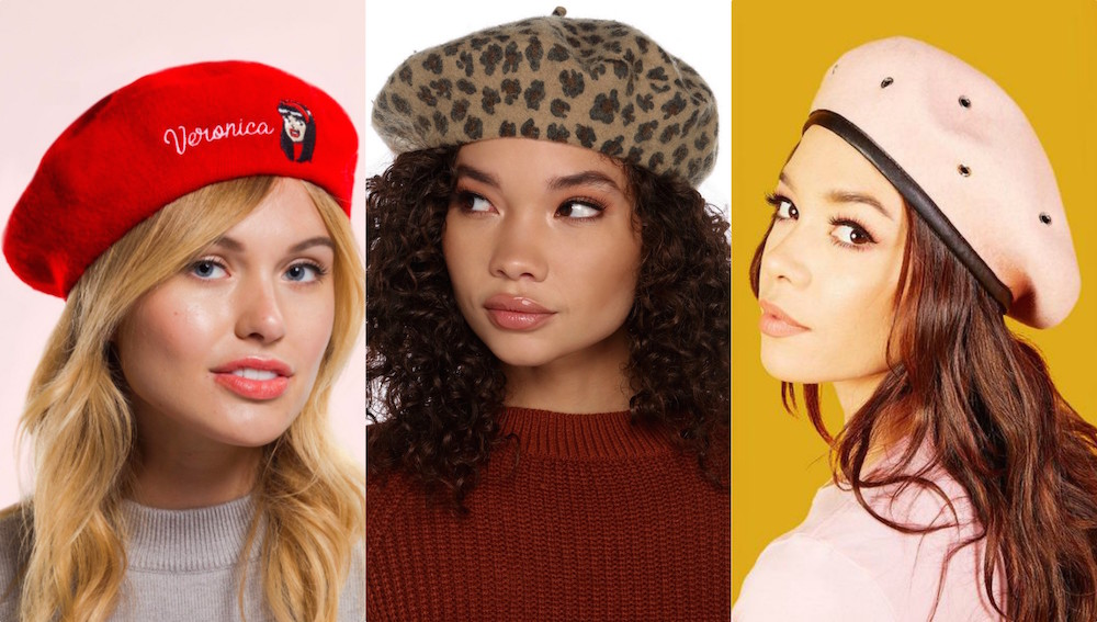 14 berets for when you're too lazy to touch up your roots