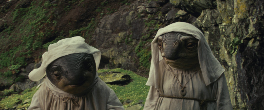 """""""The Last Jedi"""" cut an absolutely ridiculous scene where the Fish Nuns throw a rave – seriously"""