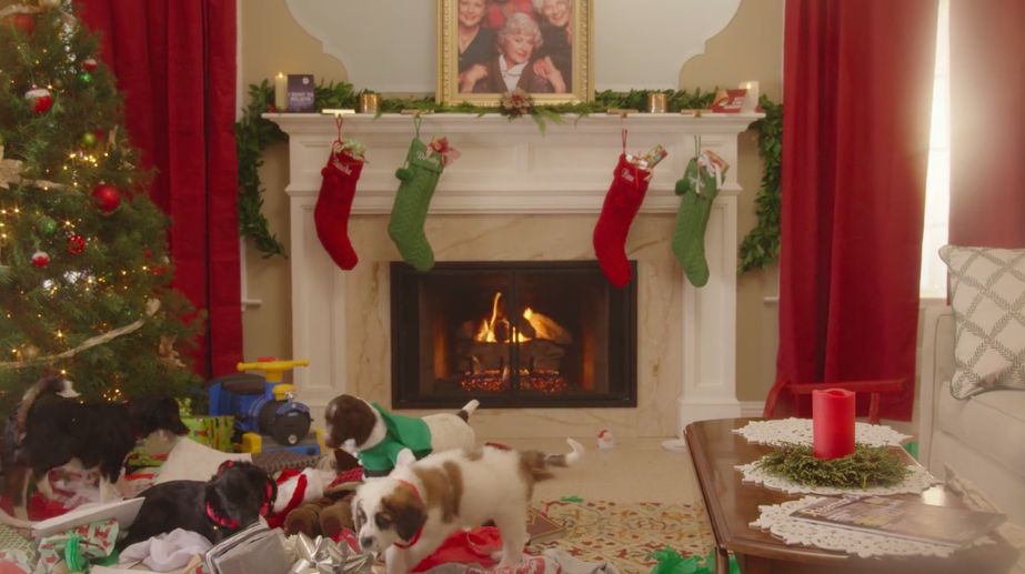 "Hulu just released a video called ""Puppies Crash Christmas,"" and it's everything I've ever wanted in life"