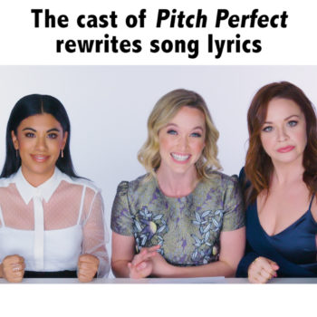 Rewriting songs with Pitch Perfect