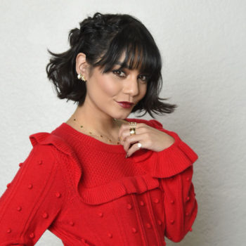 These two products are what you need to recreate Vanessa Hudgens's holiday hair