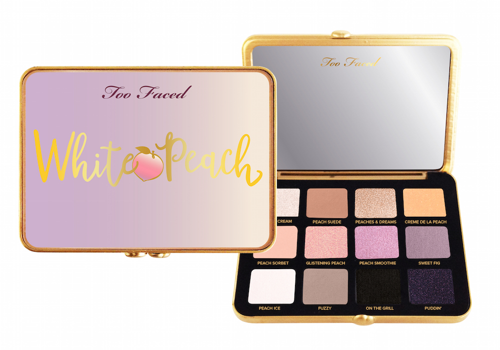 This is the lowdown on Too Faced's upcoming White Peach palette