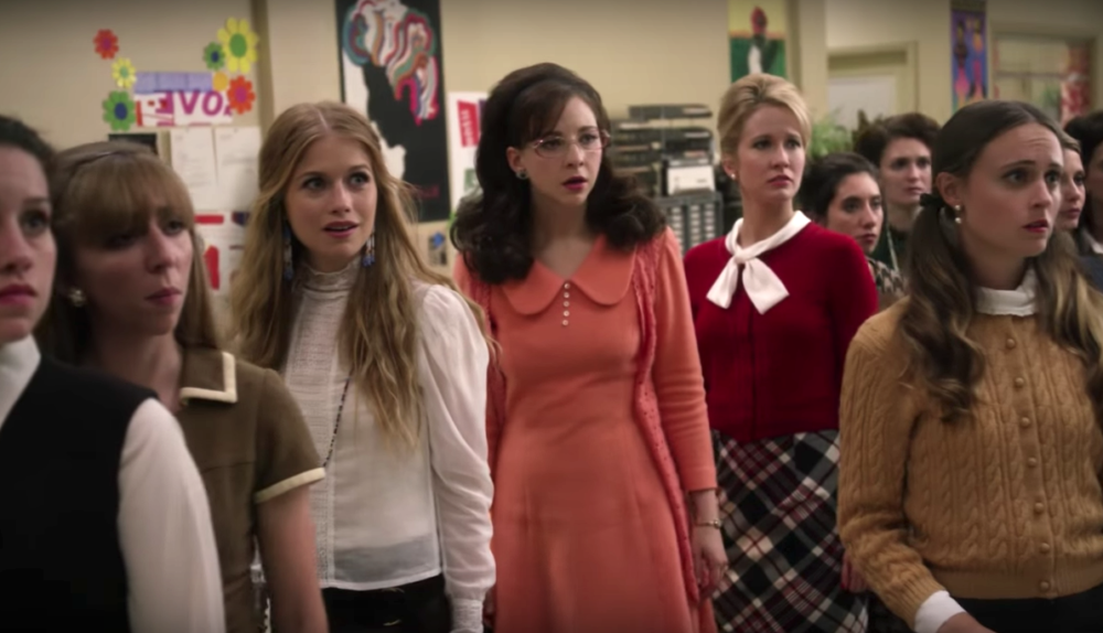 "Anna Camp wants ""Good Girls Revolt"" to come back because it needs to continue the conversation about sexual harassment"