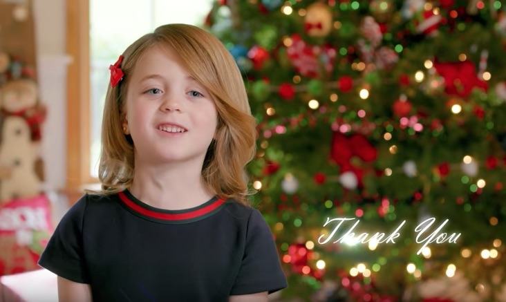 "This ad thanking Trump for ""letting us say 'Merry Christmas' again"" makes us super uncomfortable"