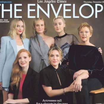 This magazine cover proves that even after this year, Hollywood still has a huge diversity problem