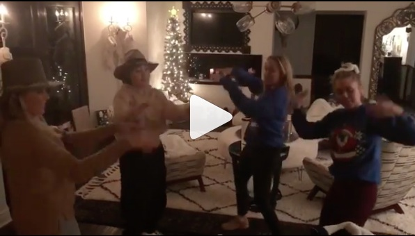 Miley Cyrus and her sisters did a choreographed pajama dance to NSYNC last night, and it's all we've ever needed