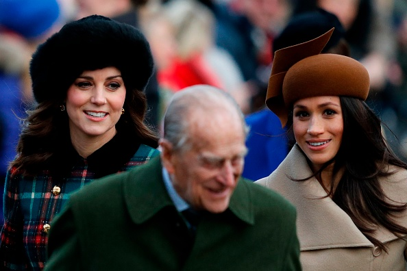 Kate Middleton and Meghan Markle curtsied in unison during their first public outing together, and people can't handle it