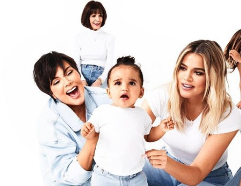 The full Kardashian Christmas card is finally here, and um, we weren't expecting this