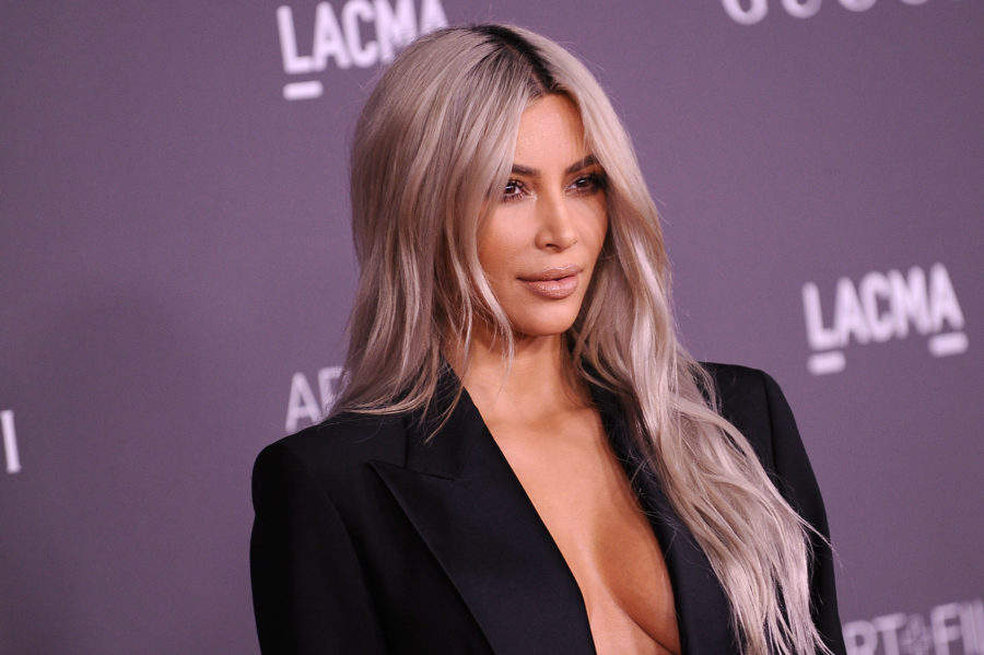 ICYMI: Kim Kardashian debuted a blue bob, and she looked like an ice princess