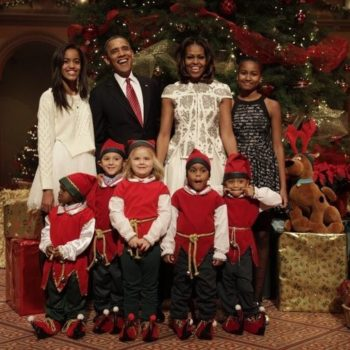 The Obama family's latest Christmas picture is here and the internet is very emotional