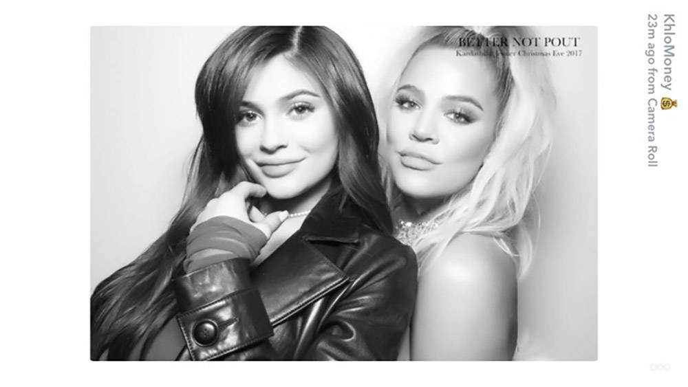 A pic of Kylie from the Kardashian Christmas Eve party has finally ...
